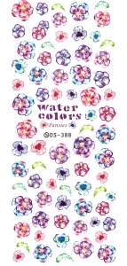 MIX GARDEN FLOWER VI Nail Sticker