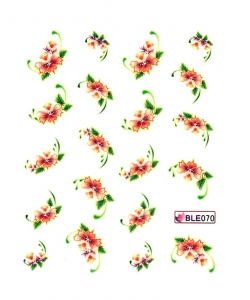 MAGIC FLOWERS II Nail Sticker