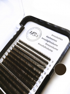 Rzęsy MO`S Mink DARK BROWN Lashes 0,07 C MIX