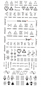 STAMPS Nail Sticker